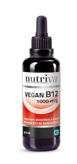 NUTRIVA VEGAN B12 LIQUIDO 1000MCG - Farmacia 33
