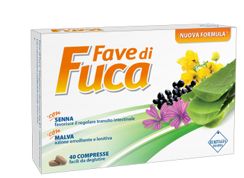 FAVE DI FUCA 40 COMPRESSE SENNA - Farmaciaempatica.it