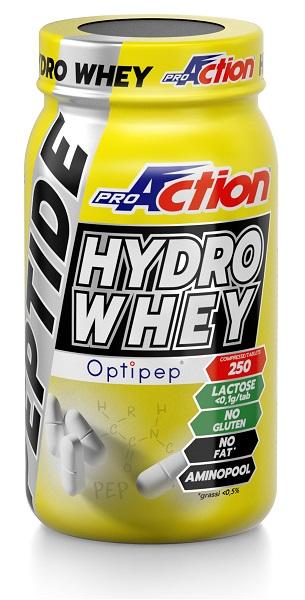 PROACTION PEPTIDE HYDRO WHEY 250 COMPRESSE - Farmacia Giotti