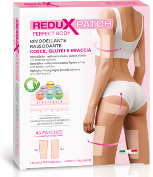 REDUX PATCH ANTICELLULITE PERFECT BODY COSCE GLUTEI BRACCIA 48 PATCH - Farmastar.it