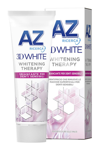 DENTIFRICIO AZ 3D WHITE THERAPY DENTI SENSIBILI 75 ML -