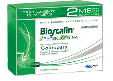 BIOSCALIN PHYSIOGENINA 60 COMPRESSE - Farmaunclick.it