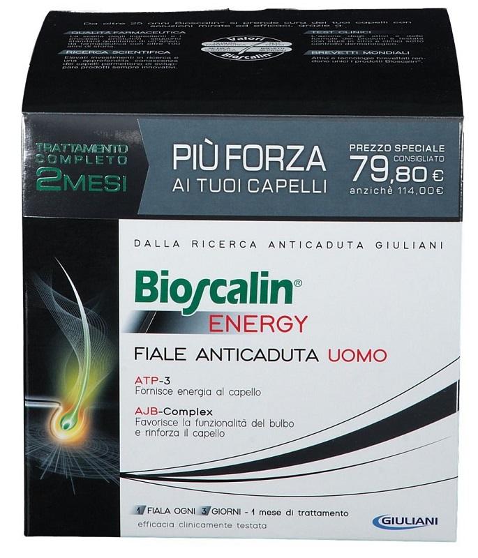 BIOSCALIN ENERGY FIALE DOPPIA TAGLIO PREZZO - Farmafamily.it
