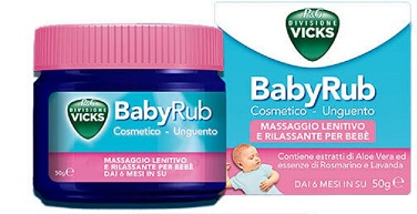 VICKS BABYRUB 50 G - Farmaunclick.it