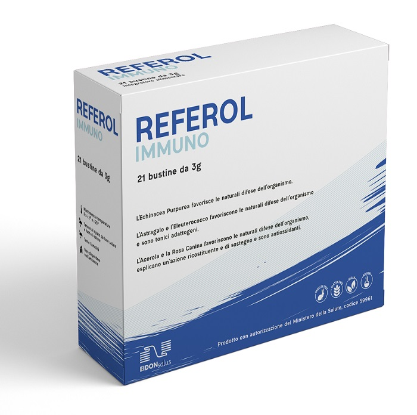 REFEROL IMMUNO 21 BUSTE 3 G - La farmacia digitale