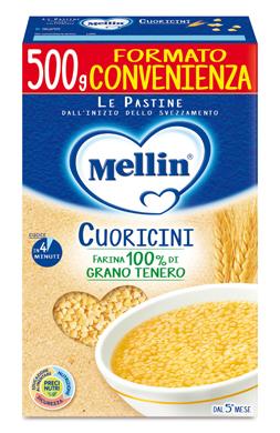 MELLIN CUORICINI 500 G - Farmaseller