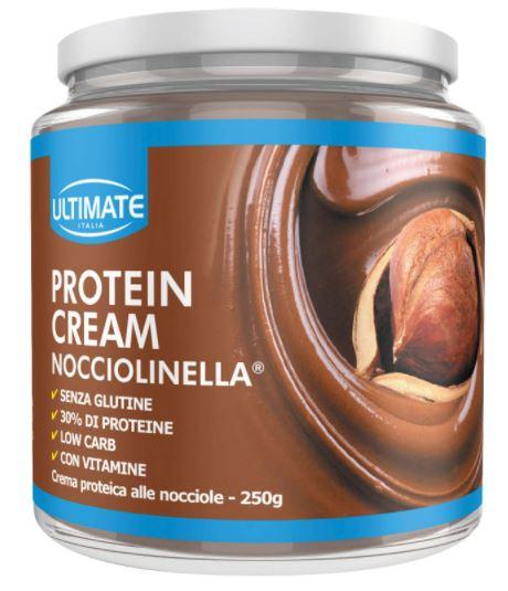 ULTIMATE PROTEIN CREAM NOCCIOLINELLA 250 G - Farmacia Centrale Dr. Monteleone Adriano