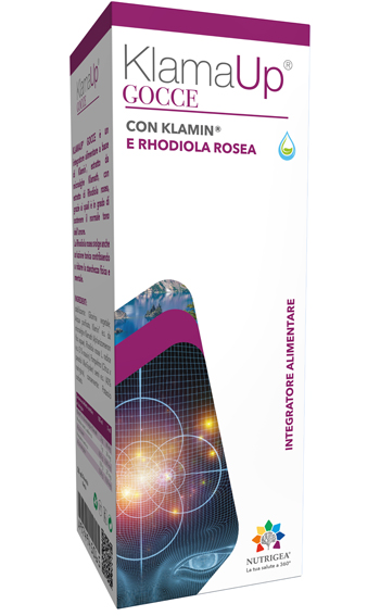 Nutrigea KlamaUp Gocce Integratore Klamin Rhodiola 50 ml - Farmastar.it