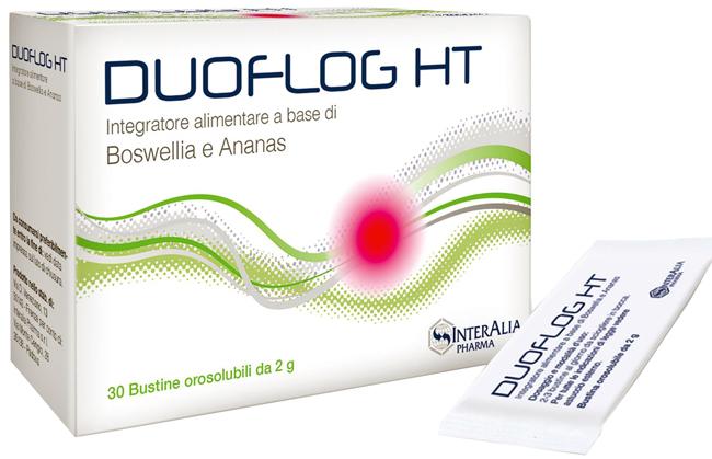 DUOFLOG HT 30 STICK OROSOLUBILI 1 G + 80 MG - Farmacia Centrale Dr. Monteleone Adriano