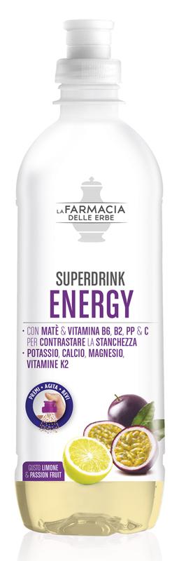 FARMACIA DELLE ERBE SUPERDRINK ENERGY 500 ML - Farmacia Centrale Dr. Monteleone Adriano