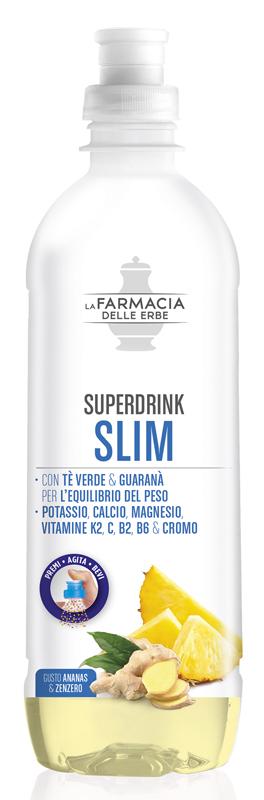 FARMACIA DELLE ERBE SUPERDRINK SLIM 500 ML - Farmacia Centrale Dr. Monteleone Adriano