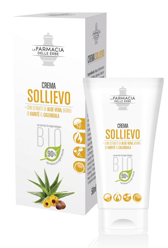 FARMACIA DELLE ERBE CREMA SOLLIEVO ALOE BIO 50 ML - Parafarmaciaigiardini.it