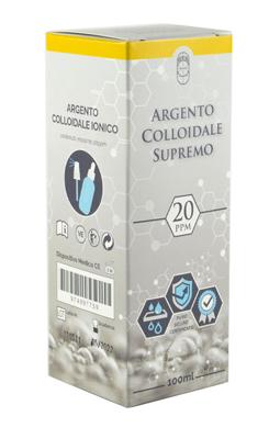 ARGENTO COLLOIDALE SUPREMO 20PPM 100 ML SPRAY + CONTAGOCCE