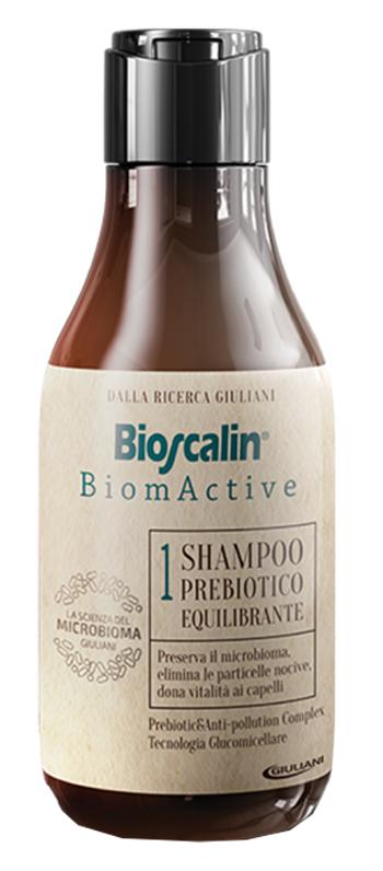 BIOSCALIN BIOMACTIVE SHAMPOO PREBIOTICO EQUILIBRANTE 250 ML - Farmastop