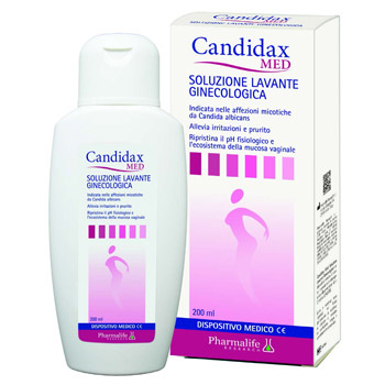 CANDIDAX MED SOLUZIONE LAVANTE GINECOLOGICA 200 ML - Farmacia 33