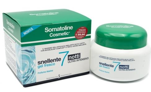 SOMATOLINE COSMETIC SNELLENTE 7 NOTTI GEL PROMO - Farmabellezza.it
