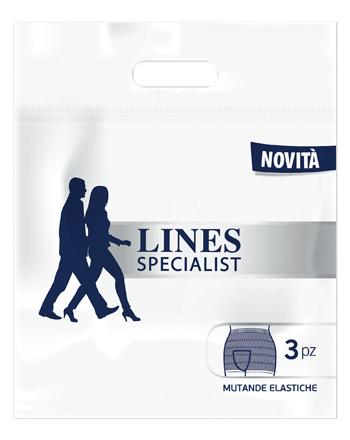 LINES SPECIALIST MUTANDA ELASTICA MG 3 PEZZI - Spacefarma.it