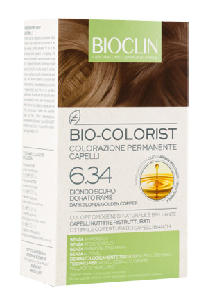 BIOCLIN BIO COLORIST BIONDO SCURO DORATO RAME - Farmapage.it