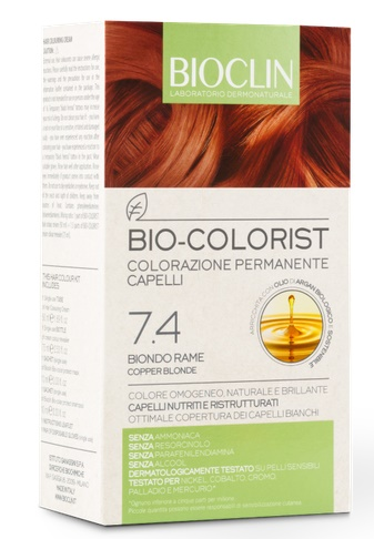 BIOCLIN BIO COLORIST BIONDO RAME - Farmapage.it