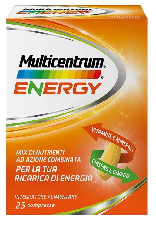 MULTICENTRUM MC ENERGY 25 COMPRESSE - Nowfarma.it