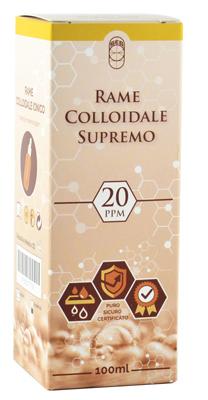 RAME COLLOIDALE SUPREMO 20PPM 100 ML - Farmacia Centrale Dr. Monteleone Adriano