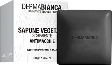 DERMABIANCA SAPONE VEGETALE SCHIARENTE ANTIMACCHIE 100 G - Farmacento