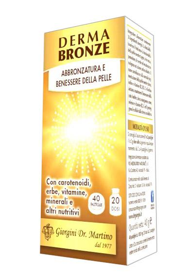 DERMA BRONZE 40 PASTIGLIE - Iltuobenessereonline.it