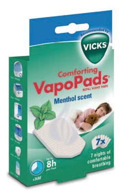 VICKS VAPOPADS MENTHOL SCENT 7 PEZZI - La farmacia digitale