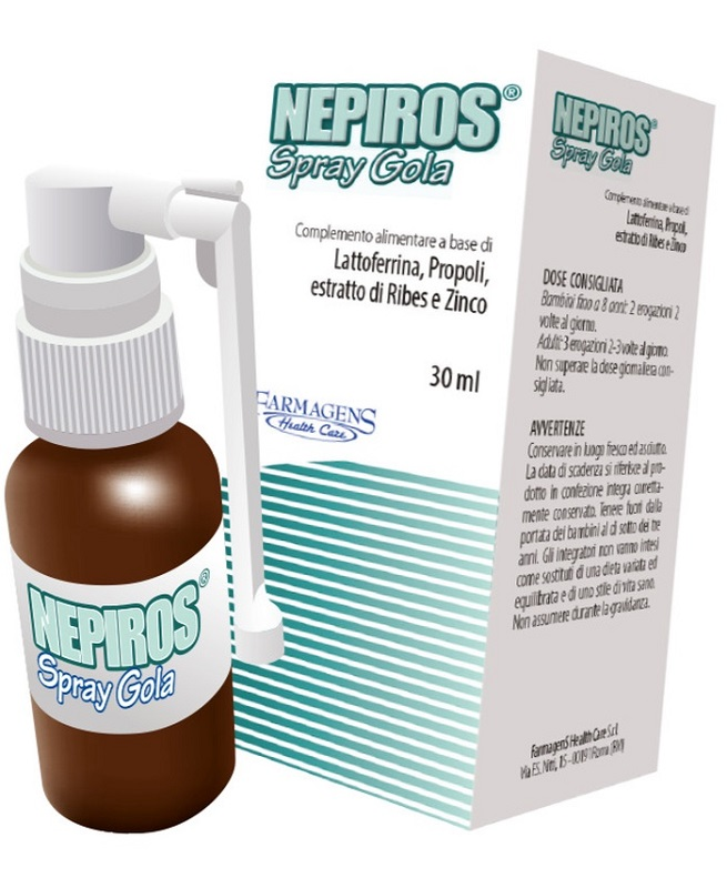 NEPIROS SPRAY GOLA 30 ML NUOVA FORMULA - Farmacia Massaro