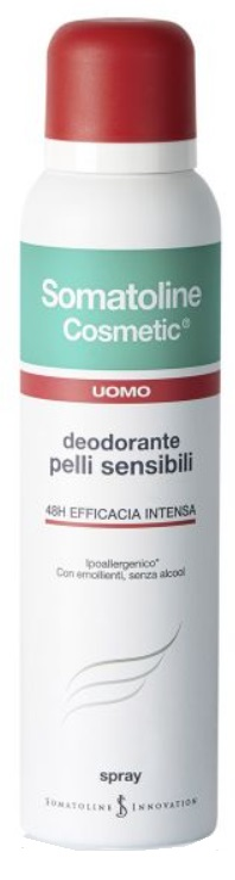 SOMATOLINE COSMETIC DEO UOMO SPRAY 150 ML - Farmacielo