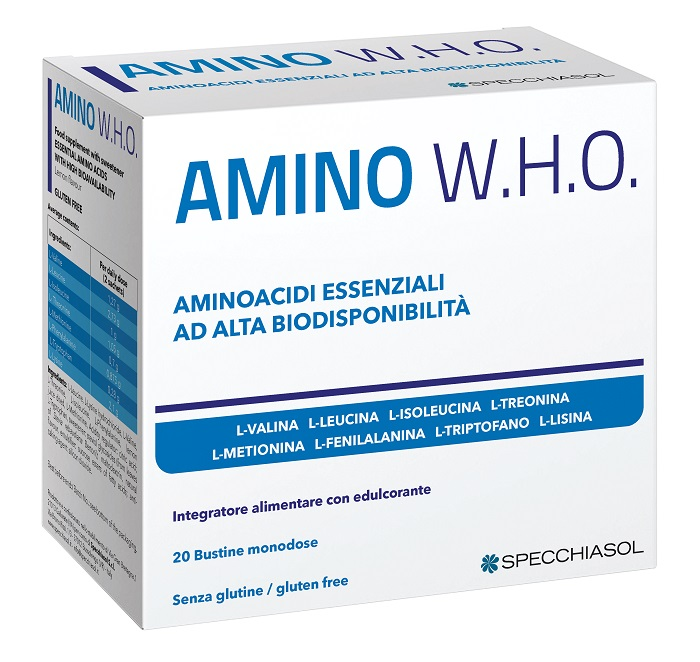 Amino Who 20 Bustine - Arcafarma.it