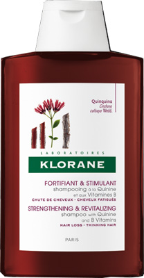 KLORANE SHAMPOO CHININA E VITAMINE B L18 400 ML - Farmajoy