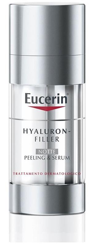 EUCERIN HYALURON-FILLER PEELING & SERUM NOTTE 30 ML - Farmaseller
