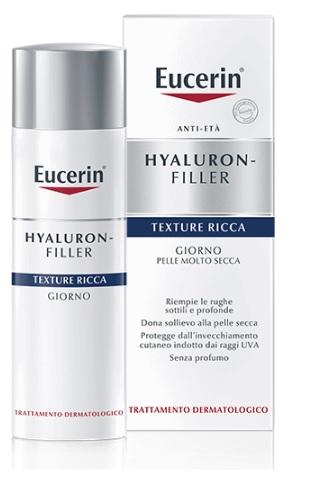 EUCERIN HYALURON-FILLER TEXTURE RICCA GIORNO 50 ML - SUBITOINFARMA