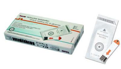 STRISCE MISURAZIONE GLICEMIA BEURER PER GLUCOMETRO GL44/GL50/GL50EVO IN FOIL 25 PEZZI offerta