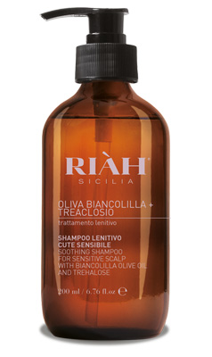 RIAH OLIVA BIANCOLILLA TREALOSIO SHAMPOO LENITIVO 200 ML - Nowfarma.it