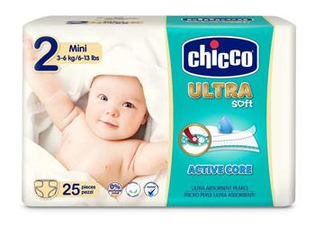 CHICCO PANNOLINO ULTRA CHICCHO MINI 25 X 10 - La farmacia digitale