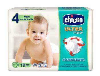 CHICCO PANNOLINO ULTRA CHICCHO MAXI 19 X 10 - La farmacia digitale