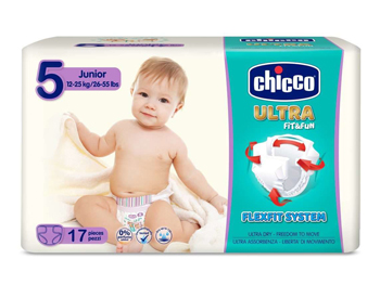 CHICCO PANNOLINO ULTRA CHICCHO JUNIOR 17 X 10 - Farmaci.me