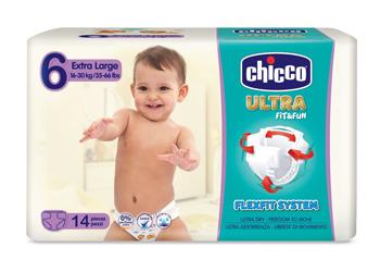 CHICCO PANNOLINO ULTRA XL 14 PEZZI - La farmacia digitale