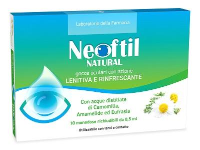 LDF NEOFTIL NATURAL 10 FLACONCINI MONODOSE DA 0,5ML - Farmabros.it
