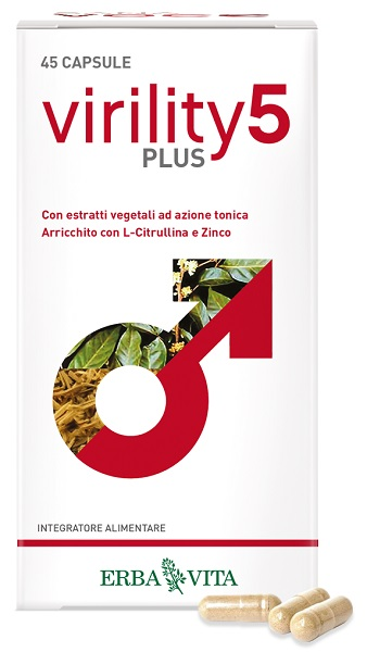 VIRILITY 5 PLUS 45 CAPSULE - La farmacia digitale