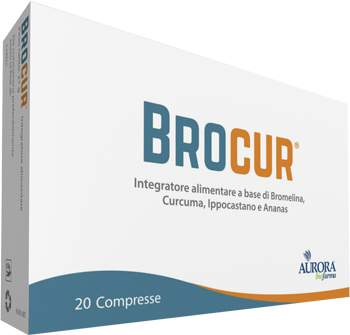 BROCUR 20 COMPRESSE - Spacefarma.it