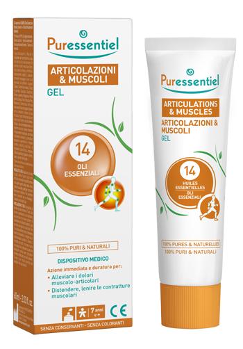 PURESSENTIEL GEL ARTICOLAZIONI & MUSCOLI 60 ML - Parafarmaciaigiardini.it