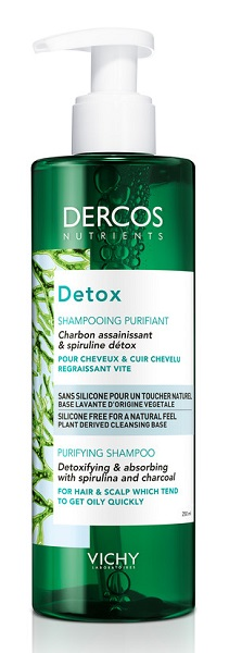 DERCOS NUTRIENTS SHAMPOO DETOX 250 ML - Farmapage.it