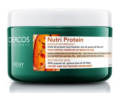 DERCOS NUTRIENTS MASCHERA NUTRI PROTEIN 250 ML - Farmaunclick.it