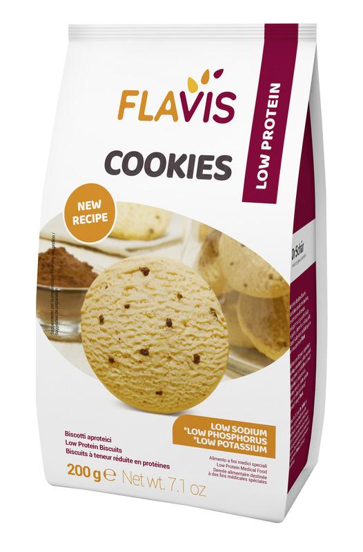 MEVALIA FLAVIS COOKIES APROTEICO 200 G - La farmacia digitale