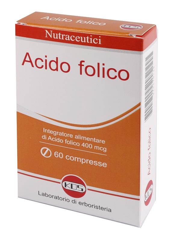 ACIDO FOLICO 400MCG 60 COMPRESSE - Farmacia Centrale Dr. Monteleone Adriano