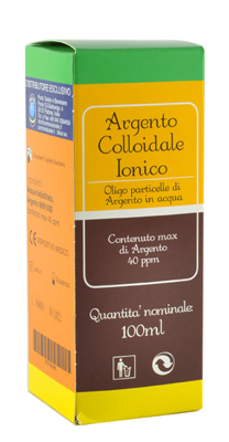 ARGENTO COLLOIDALE SUPREMO 40PPM CERTIFICATO SPRAY CON CONTAGOCCE 100 ML - latuafarmaciaonline.it