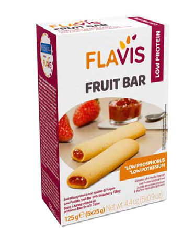 MEVALIA FLAVIS FRUIT BAR 125 G - Zfarmacia